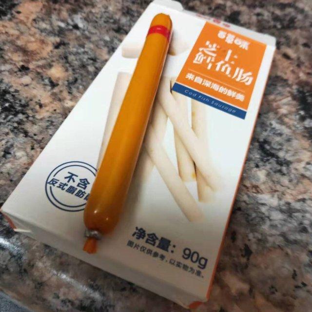 拔草|百草味鳕鱼芝士肠