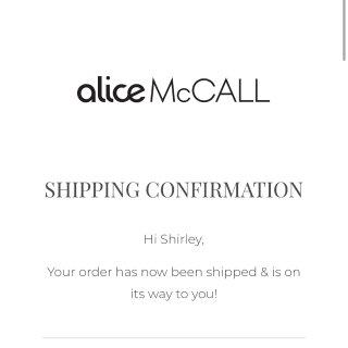 Alice Mccall小裙子...