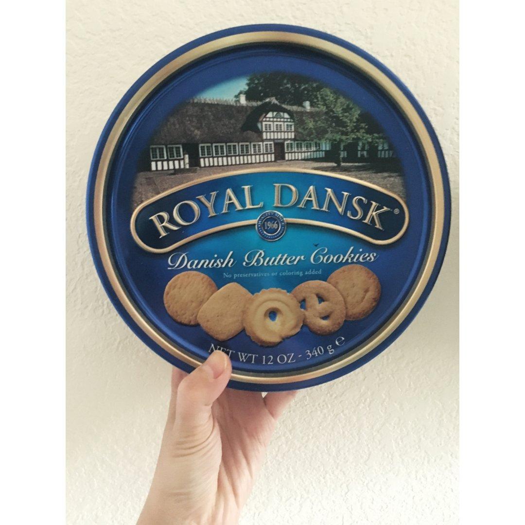 royal dansk丹麦黄油饼干
