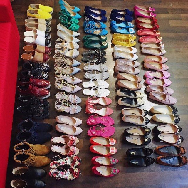 令人头疼的7天美鞋打卡之鞋子收纳