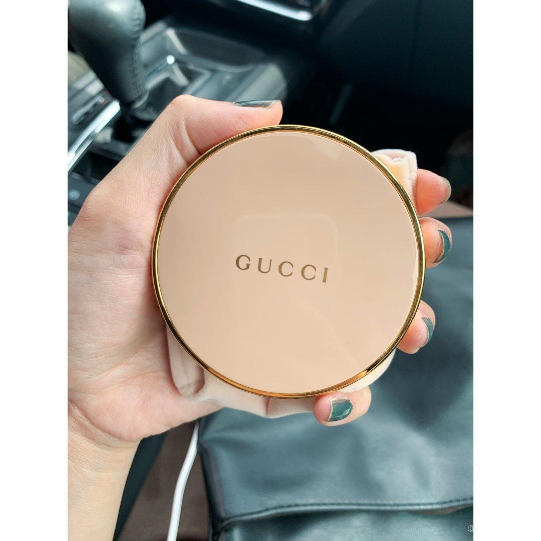 Gucci超美超仙陶瓷粉盒 蜜粉餅