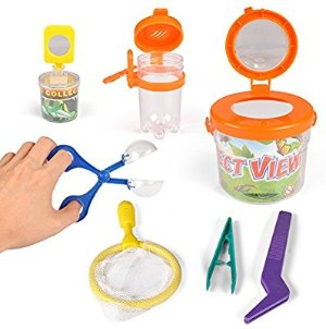 Amazon.com: Little Backyard Explorer Insect Bug Viewer Collecting Kit (7 Piece): Toys & Games