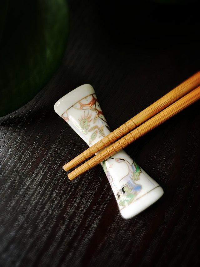 陶瓷筷架(4)——古风枕头