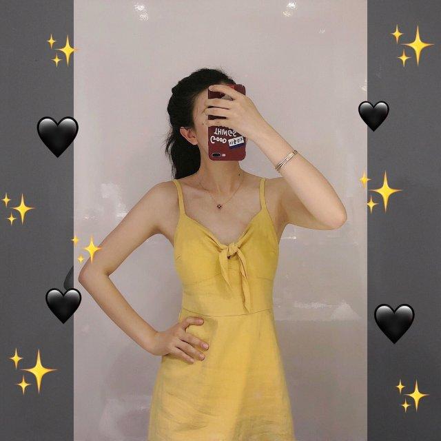 终于到了穿姜黄色💛小裙裙的时候啦