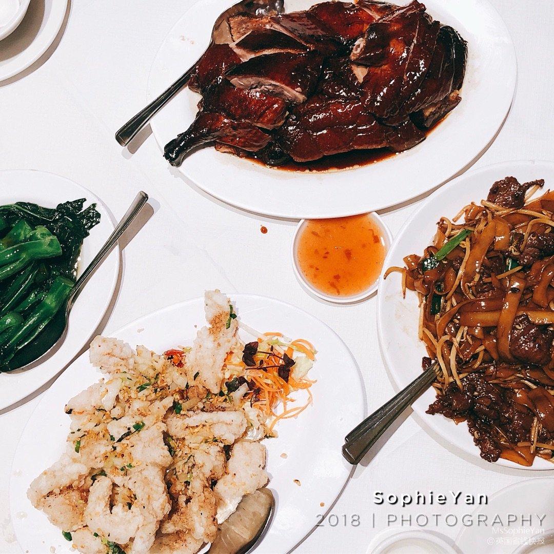 伦敦美食   中国城港式茶餐厅金龙轩...