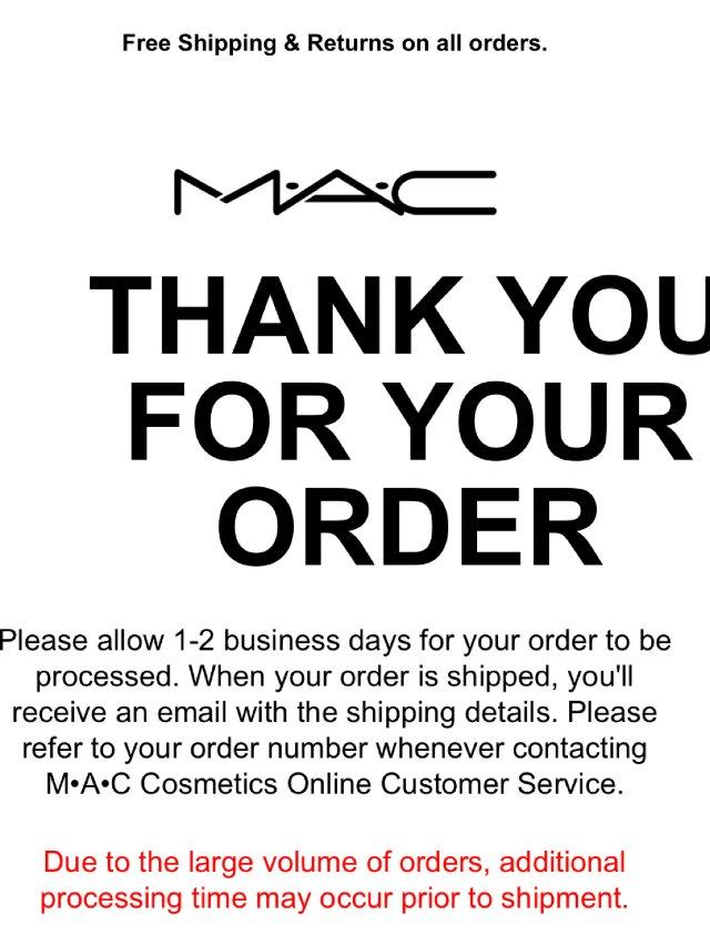 MAC口红节收了什么1
