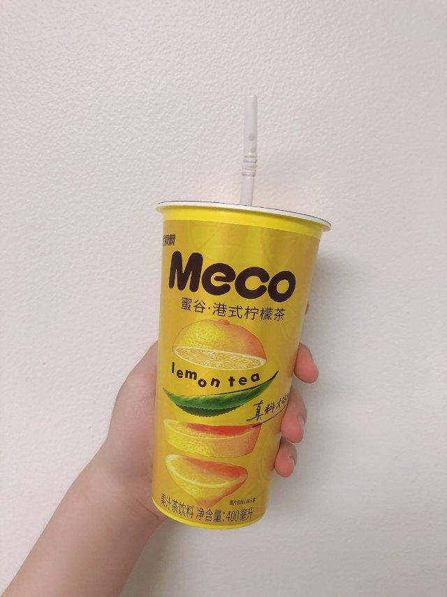 Meco蜜谷:港式柠檬茶🍋