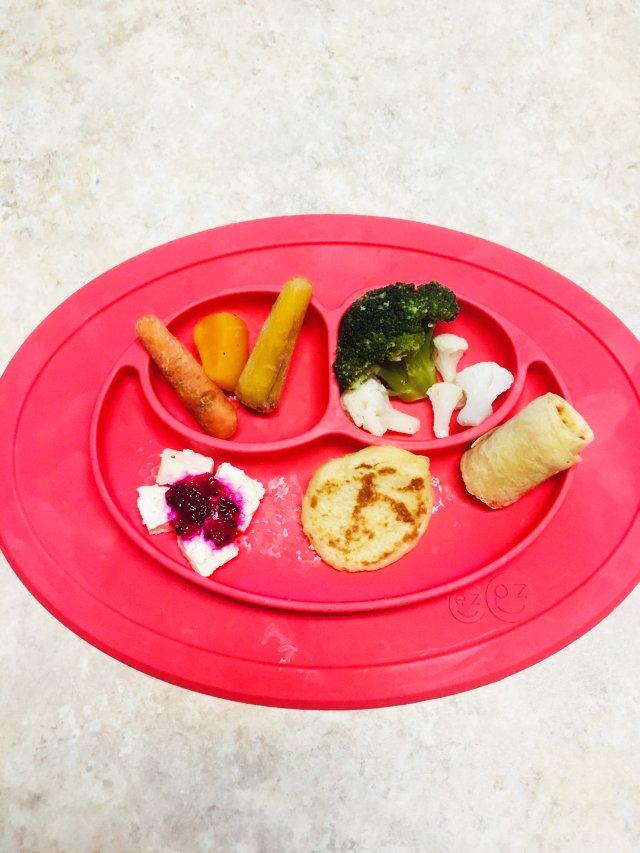【宝宝用品】雷品一个的宝宝吸盘餐具