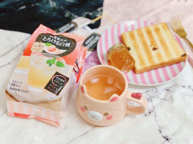 日东红茶·速溶白桃果汁🍑