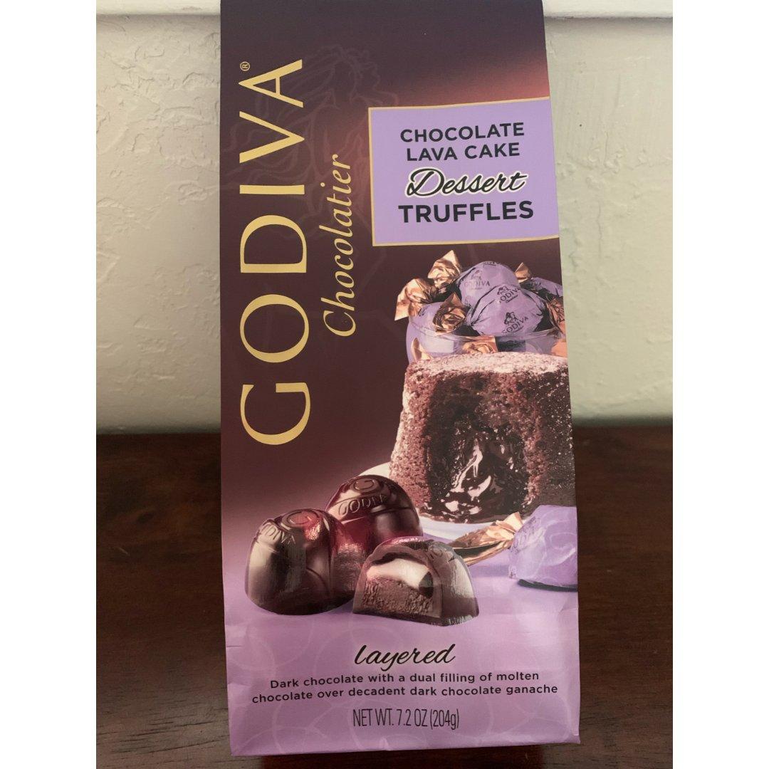 Godiva熔岩巧克力