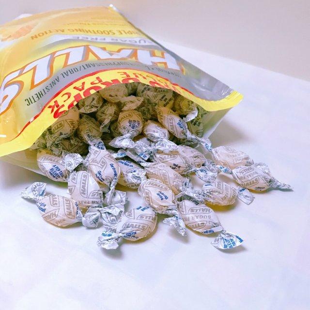 清咽利喉—Halls蜂蜜柠檬润喉糖