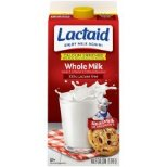 Lactaid 100% Lactose Free Whole Calcium Fortified Milk, 0.5 gal - Walmart.com