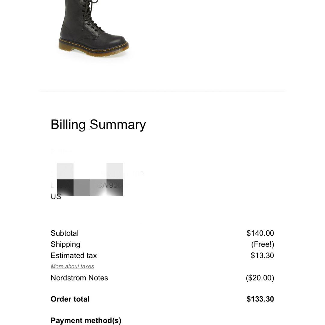NR 黑五买的马丁靴