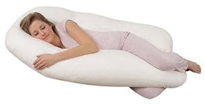 Amazon.com: Leachco Back 'N Belly Contoured Body Pillow, Ivory: Baby