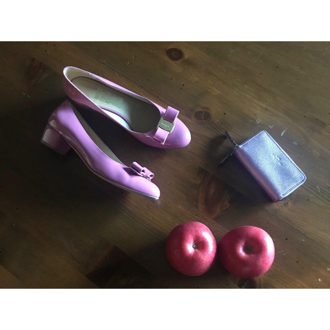 包包鞋子一个色 打卡第2️⃣天 粉色