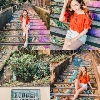 Hidden Garden Mosaic Steps