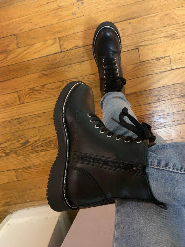 马丁靴,终于安排上了