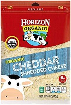 Horizon Organic Finely Shredded Cheddar Cheese, 6 oz: Amazon.com