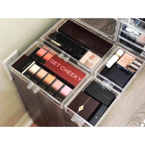 我的美妆产品收纳分享 (上)