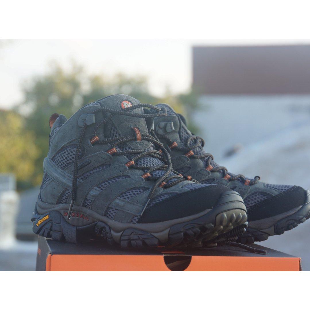 新买的登山鞋拉出来遛遛