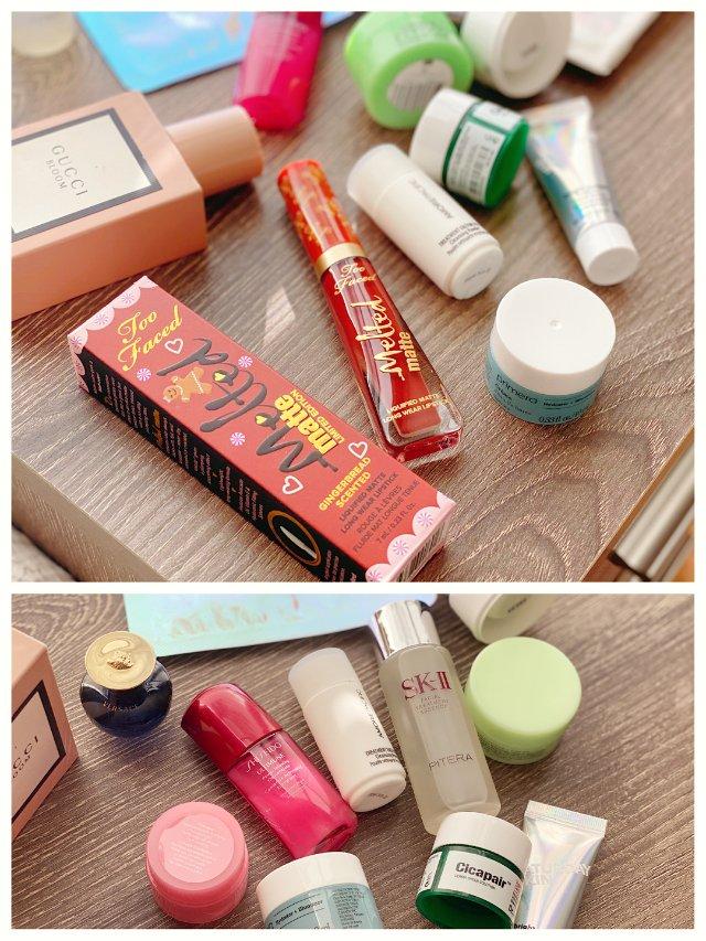 黑五剁手记|姜饼人女孩|日系韩系护肤套盒