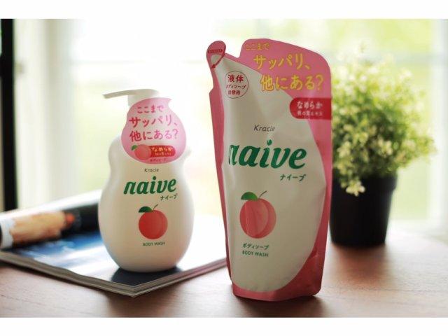 Kracie | naive蜜桃沐浴液