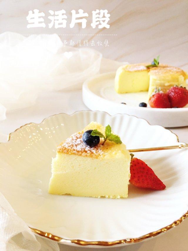 ✨留恋那一份小清新 |日式轻芝士蛋糕✨
