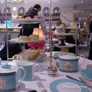 伦敦下午茶 可信赖的福南梅森很好吃...