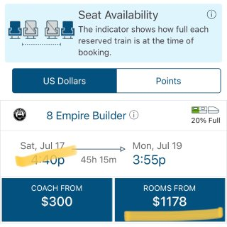 Amtrak 🚞 美国火车购票小贴士...