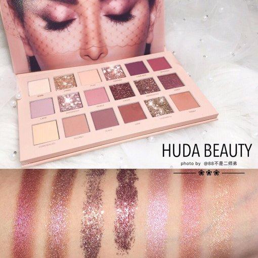 Huda The New Nude 闪闪发光眼影盘