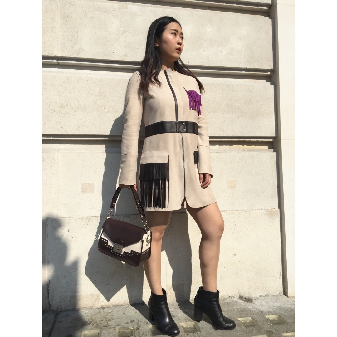 我的新春夏Longchamp战袍战包