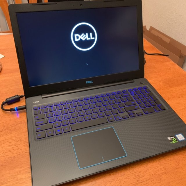 黑五战利品|Dell G3