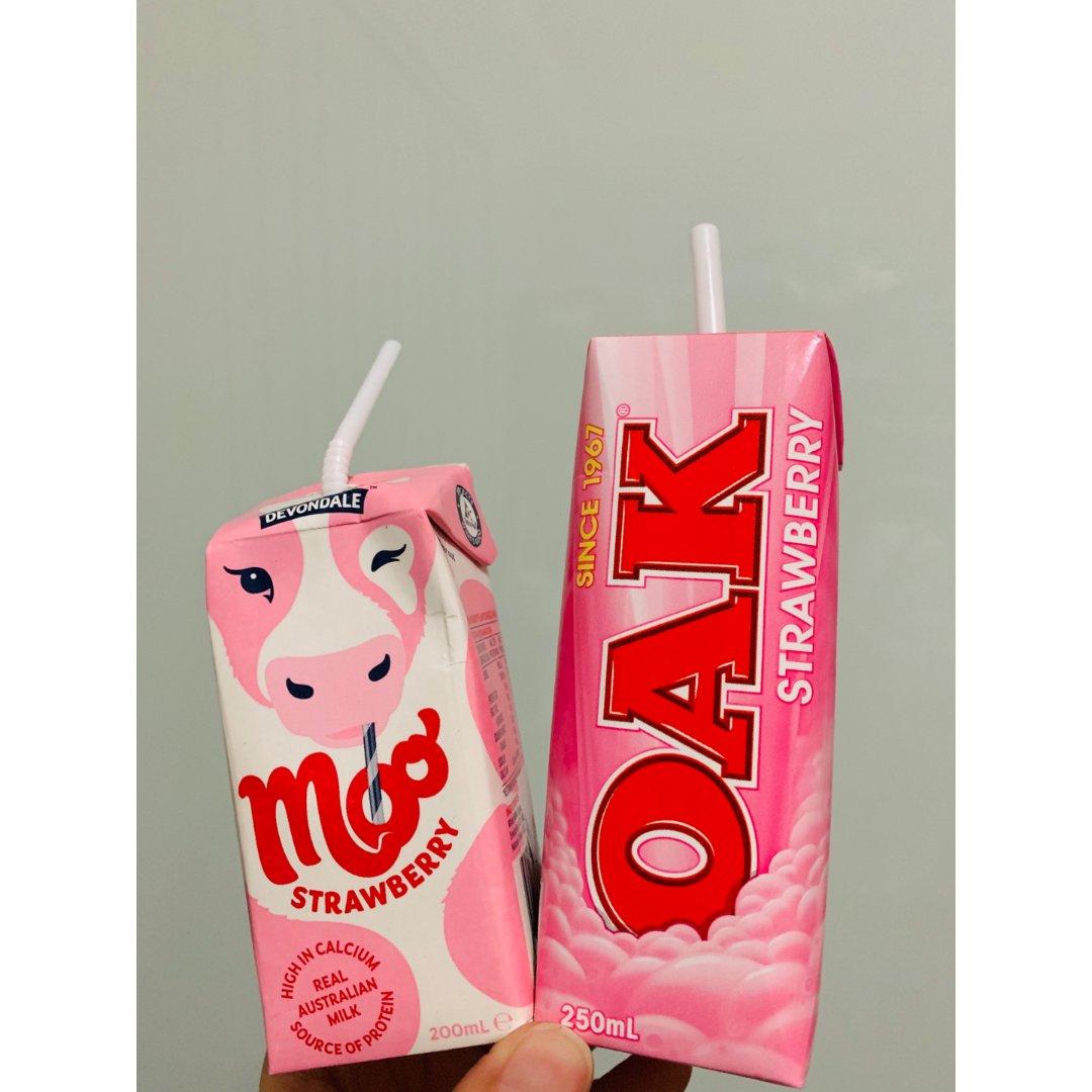 最爱的草莓小牛奶...