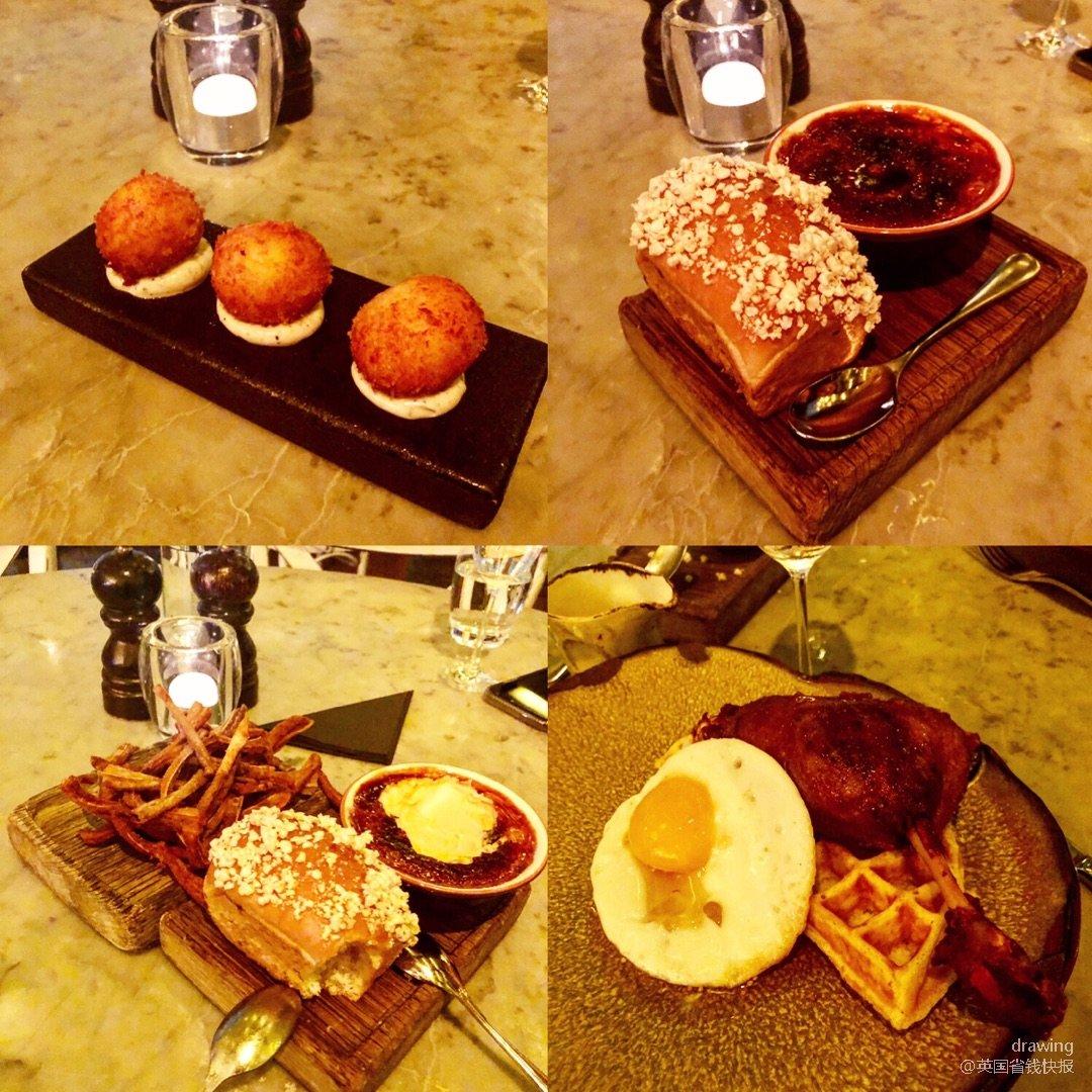 伦敦探店🇬🇧duck & waffle...