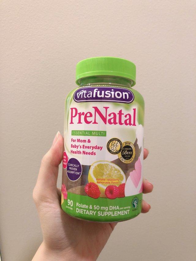 vitafusion 孕期补充营养...