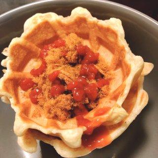 颜值与美味并存👉华夫饼机