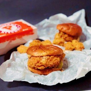 spicy chicken sandwich,classic chicken sandwich