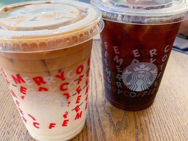 Starbucks 冻饮冷萃冰咖啡