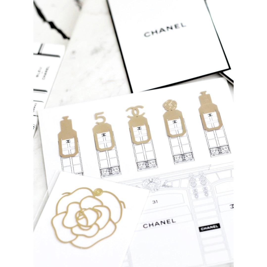 【14】迷你可爱的Chanel赠品书签~