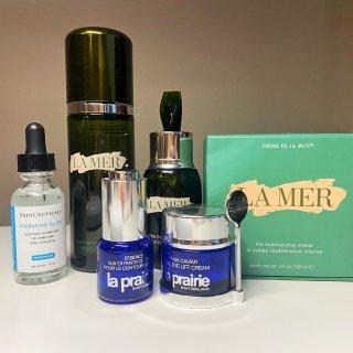 La Mer 海蓝之谜,La Prairie 莱珀妮,SkinCeuticals 杜克