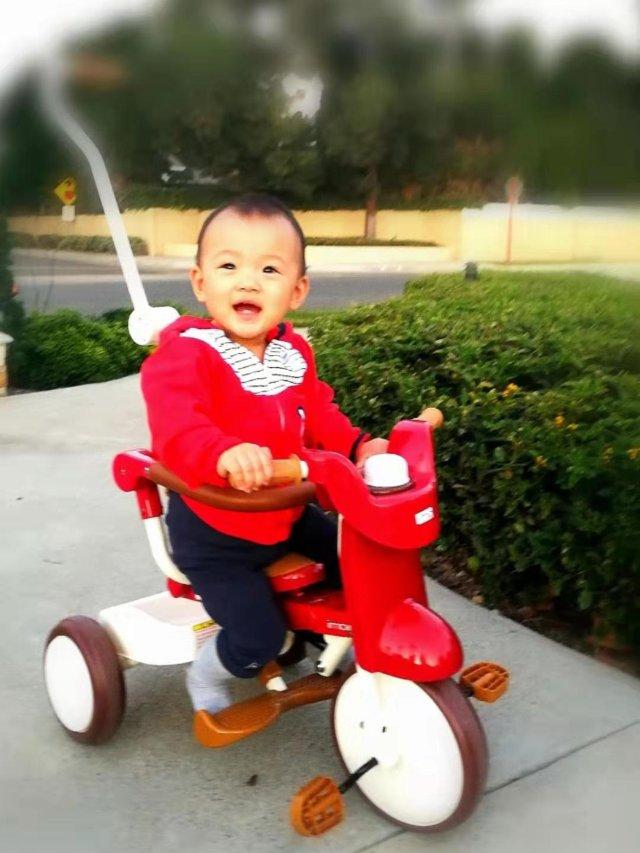 iimo 折叠三轮车, 最捧的一岁...