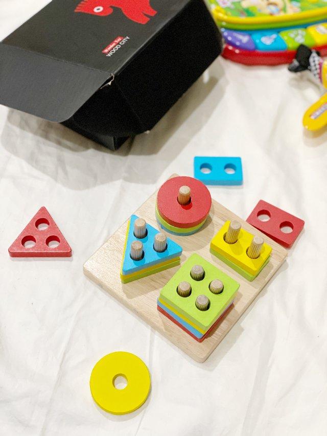 可爱的木质玩具