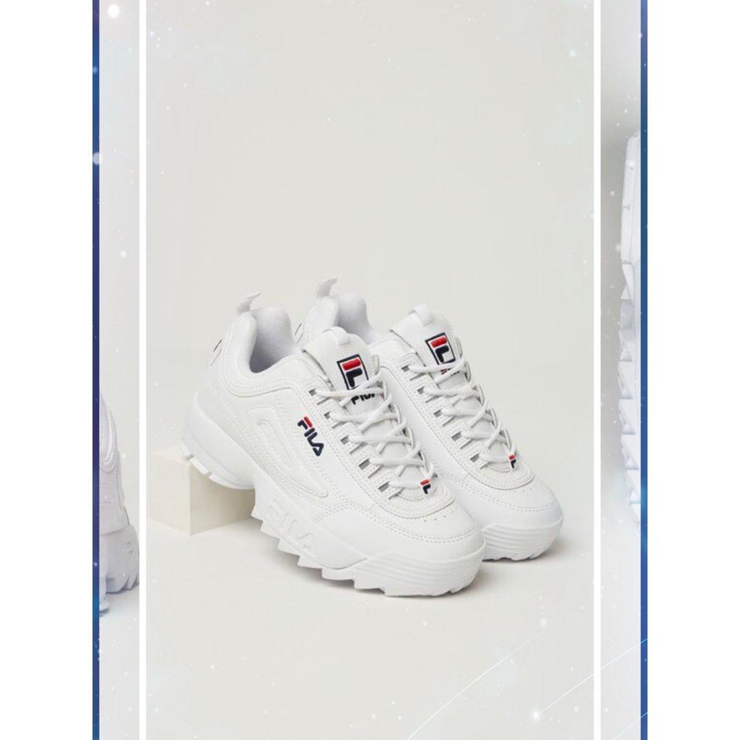 Fila ,一眼就爱上的小白鞋!
