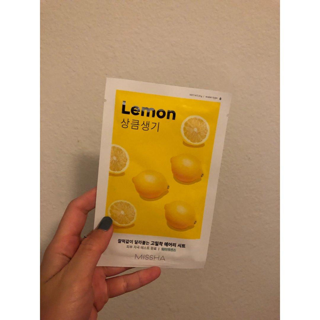 Missha柠檬面膜