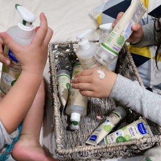 新年礼物/孩子们的洗护产品我只选有机的—...
