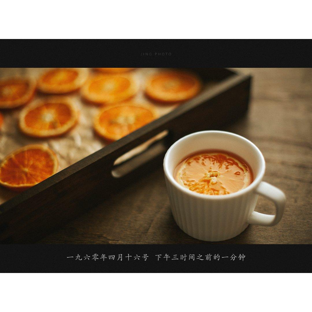 水里加点甜 | 空气炸锅烘干橙子片...