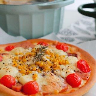 泥的食物 / 第一次做披萨可开心...