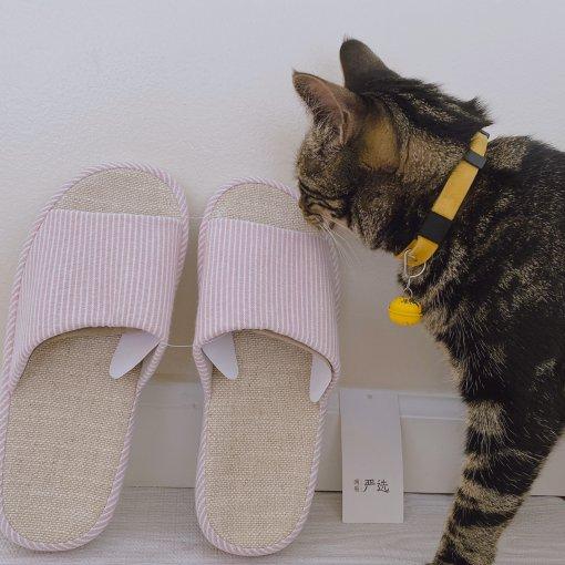 🦩四季居家必备好物~Lifease网易严选之自然棉麻拖鞋