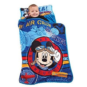 As low as $13.7Disney Mickey's Toddler Rolled Nap Mat, Flight Academy