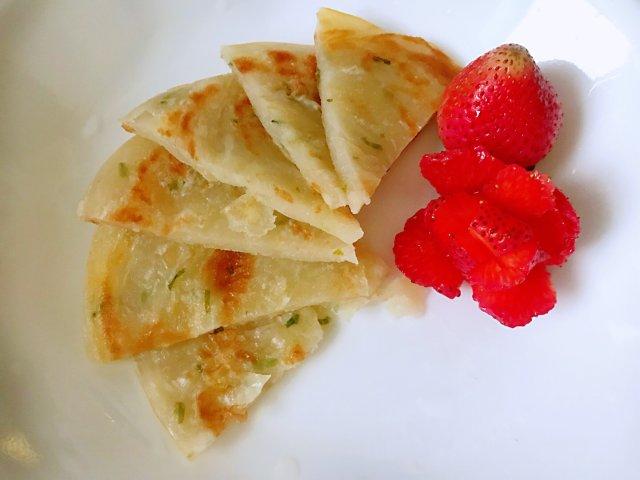 快手早餐— —義美·葱油饼